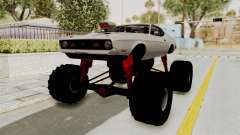 Ford Mustang 1971 Monster Truck для GTA San Andreas