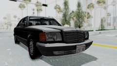 Mercedes-Benz 560SEL 1987 US-spec для GTA San Andreas