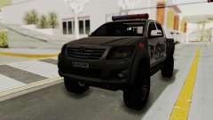 Toyota Hilux 4WD 2015 Georgia Police для GTA San Andreas
