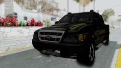 Chevrolet S10 Policia Caminera Paraguaya для GTA San Andreas