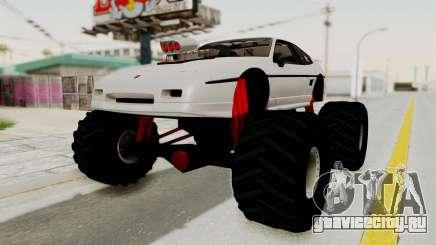 Pontiac Fiero GT G97 1985 Monster Truck для GTA San Andreas