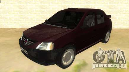 Dacia Logan Sport для GTA San Andreas