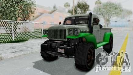 GTA 5 Bravado Duneloader Cleaner Worn IVF для GTA San Andreas