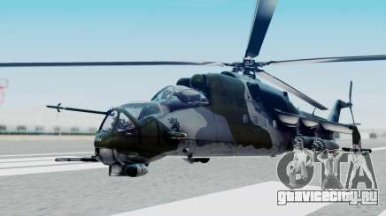 Mi-24V Czech Air Force 7354 для GTA San Andreas