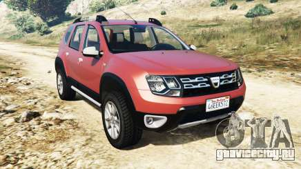 Dacia Duster 2014 для GTA 5