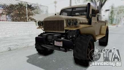 GTA 5 Bravado Duneloader Cleaner Worn для GTA San Andreas