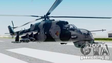 Mi-24V GDR Air Force 45 для GTA San Andreas