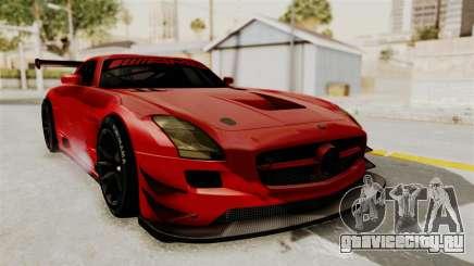 Mercedes-Benz SLS AMG GT3 PJ2 для GTA San Andreas