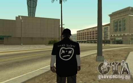Ballas Gang Member для GTA San Andreas второй скриншот