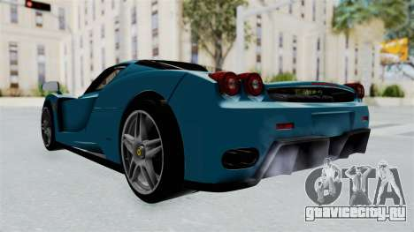 Ferrari Enzo для GTA San Andreas вид справа