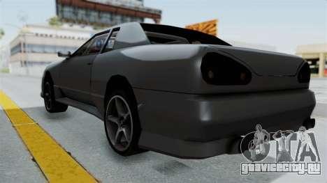 Elegy v2 для GTA San Andreas вид сзади слева
