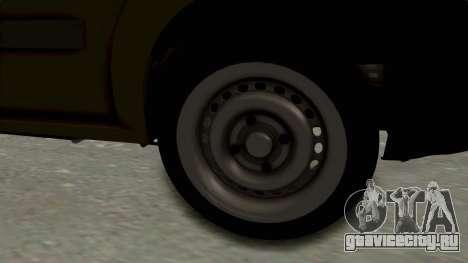 Dacia Logan MCV Van для GTA San Andreas вид сзади