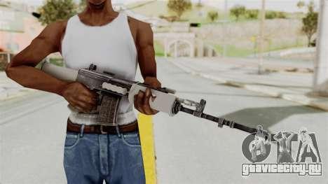 IOFB INSAS Grey для GTA San Andreas третий скриншот