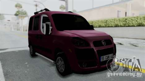 Fiat Doblo для GTA San Andreas вид справа