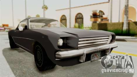 Dominator Classic для GTA San Andreas вид справа