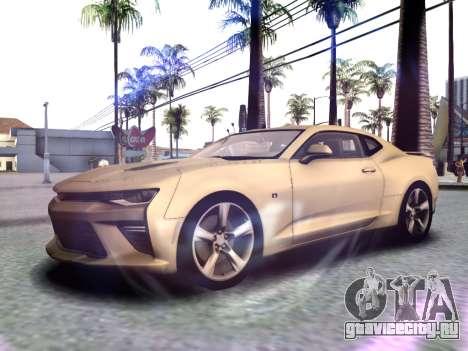 Chevrolet Camaro SS 2016 для GTA San Andreas вид слева