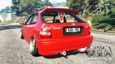 Honda Civic для GTA 5