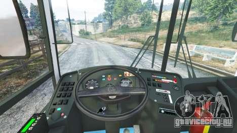 ЛиАЗ-5256.53 для GTA 5 вид сзади справа