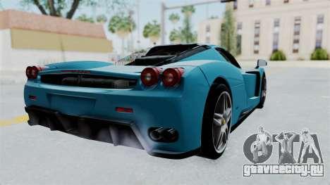 Ferrari Enzo для GTA San Andreas вид слева