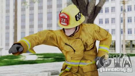 GTA 5 Fireman LV для GTA San Andreas