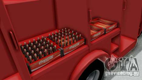 Ford P600 1964 Coca-Cola Delivery Truck для GTA San Andreas вид сбоку