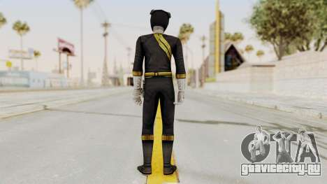 Power Rangers Wild Force - Black для GTA San Andreas третий скриншот