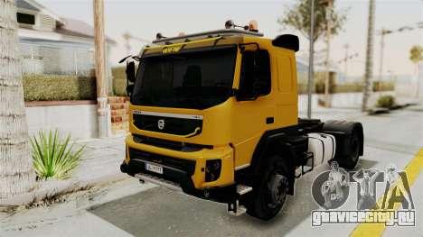 Volvo FMX Euro 5 4x2 для GTA San Andreas вид справа