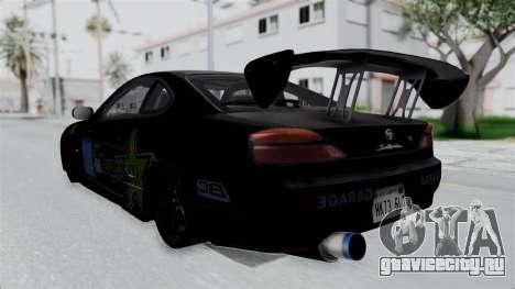 Nissan Silvia S15 RDT для GTA San Andreas вид слева