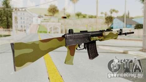 IOFB INSAS Camo v1 для GTA San Andreas второй скриншот