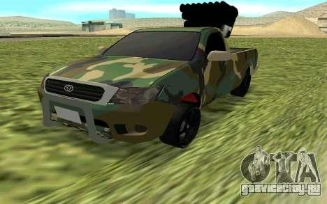 Toyota Hilux 2013 для GTA San Andreas