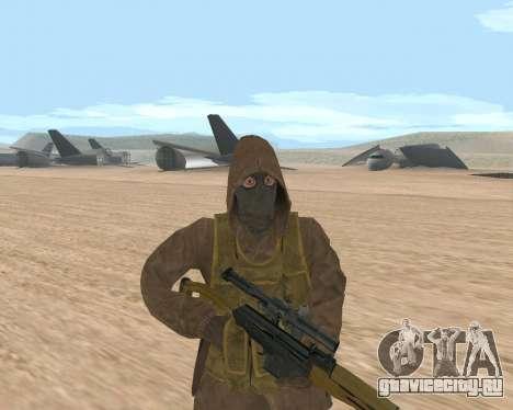 Soviet Sniper для GTA San Andreas третий скриншот