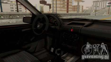 Chevrolet Corsa Hatchback Tuning v1 для GTA San Andreas вид изнутри