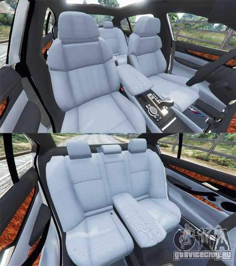BMW 750Li xDrive (G12) 2016 для GTA 5 вид справа