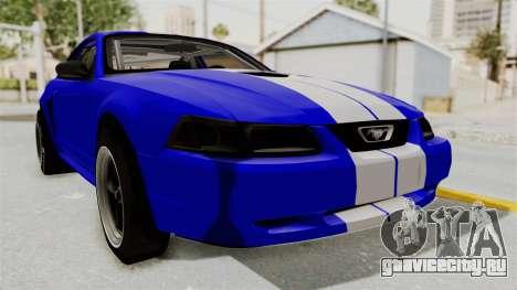 Ford Mustang 1999 Drag для GTA San Andreas