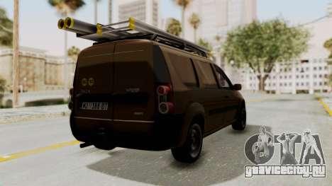 Dacia Logan MCV Van для GTA San Andreas вид справа