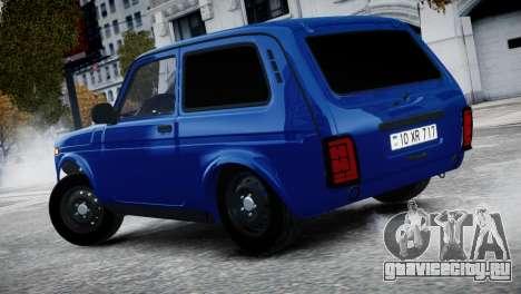 Niva 2015 Aze style для GTA 4 вид справа