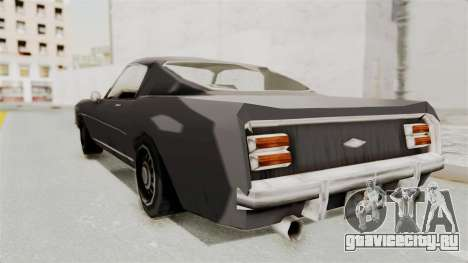 Dominator Classic для GTA San Andreas вид слева
