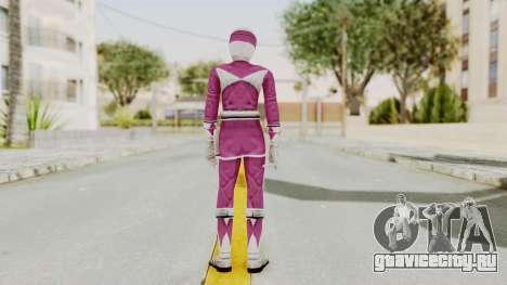 Mighty Morphin Power Rangers - Pink для GTA San Andreas третий скриншот