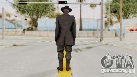 MGSV Phantom Pain SKULLFACE для GTA San Andreas третий скриншот