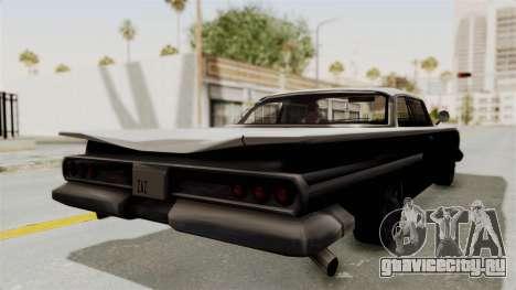 Voodoo Limited Edition для GTA San Andreas вид сзади слева