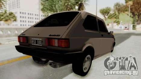 Fiat 147 TR De Picadas для GTA San Andreas вид справа