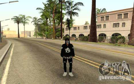 Новый бомж v4 для GTA San Andreas