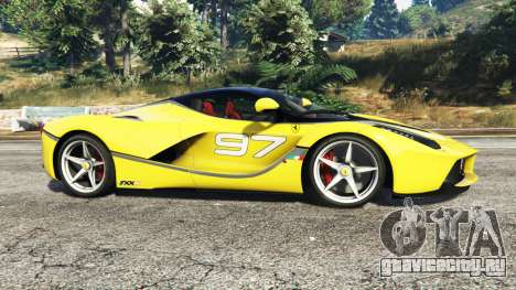 Ferrari LaFerrari для GTA 5 вид слева