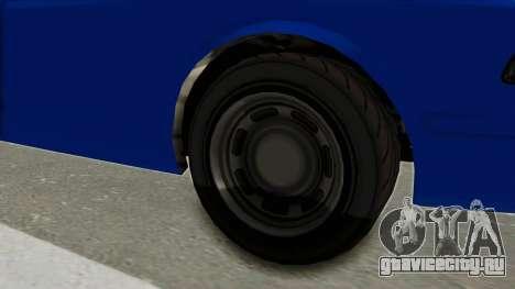 GTA 5 Vapid Stanier II Police Cruiser 2 для GTA San Andreas вид сзади