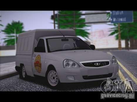 Lada Priora Stok Budka для GTA San Andreas