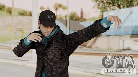 Watchdogs Aiden Pierce DedSec Outfit для GTA San Andreas