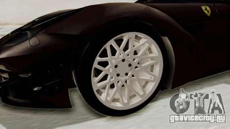 Ferrari F12 Berlinetta Drift для GTA San Andreas вид сзади