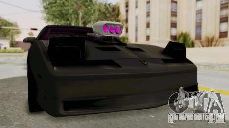 Pontiac Firebird 1982 Trans Am Drag для GTA San Andreas вид справа