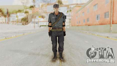 MGSV Phantom Pain Zero Risk Security LMG v2 для GTA San Andreas второй скриншот