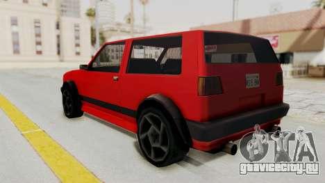 Club GTI для GTA San Andreas вид слева